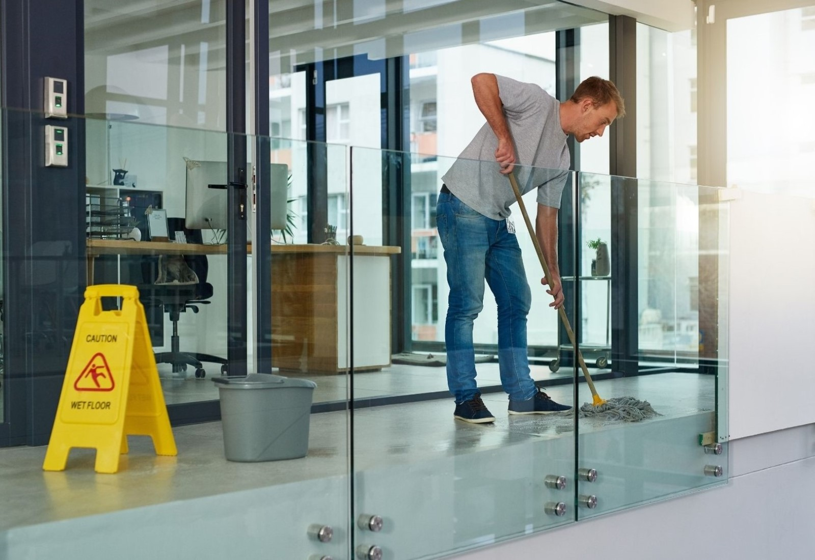 Commercial Clean Regular office cleaning