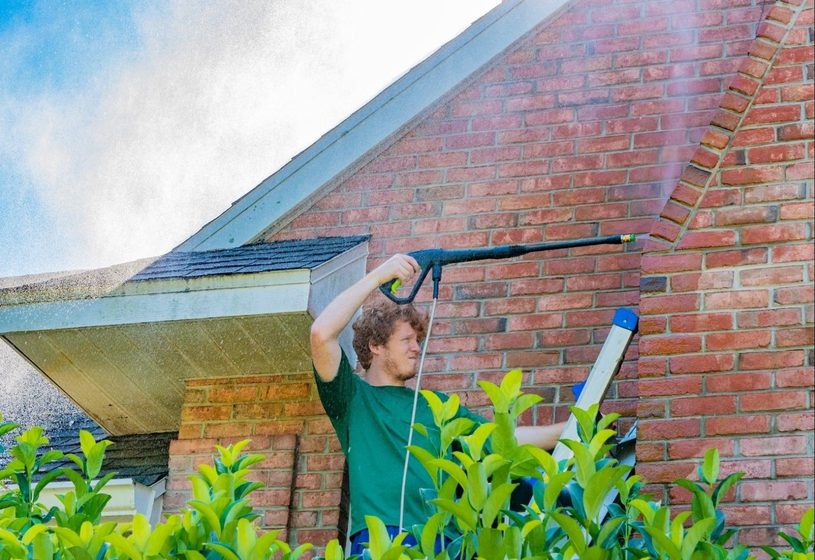 Residential Home Cleaning building wash